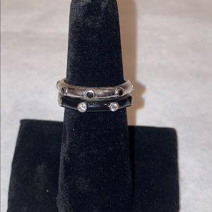 Diamonique Ring Set